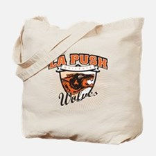 La Push Wolves Emblem (fiery red) Tote Bag