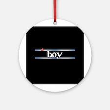 boy Ornament (Round)