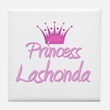 Princess Lashonda Tile Coaster