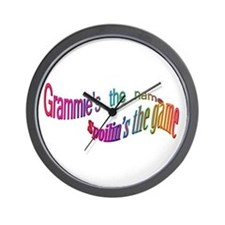 Grammie's the name, Spoilin's Wall Clock