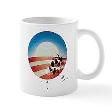Obama Vote by Dog Paw Mug