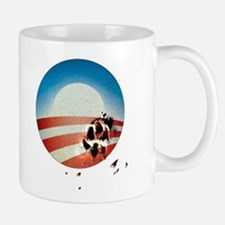Obama Vote by Dog Paw Mug