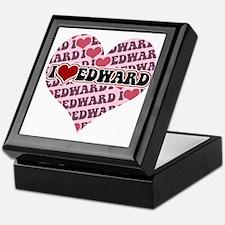 I love Edward Keepsake Box