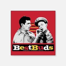 "Best Buds Square Sticker 3"" x 3"""