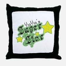 YiaYia's Super Star Throw Pillow