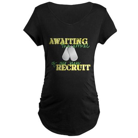 New Recruit Maternity Dark T-Shirt