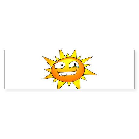 Sunshine Bumper Sticker