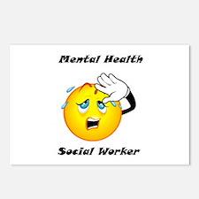 Mental Health Social Worker Postcards (Package of