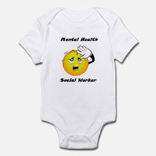 Mental Health Social Worker Infant Bodysuit