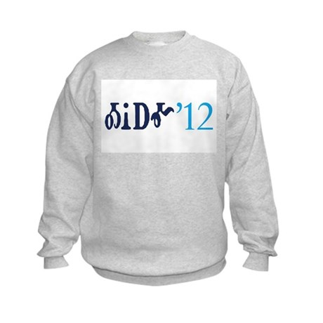 Obama '12 Cherokee Kids Sweatshirt