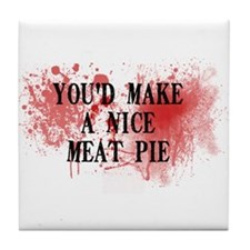 Sweeny Todd's Meat Pie Tile Coaster