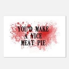 Sweeny Todd's Meat Pie Postcards (Package of 8)