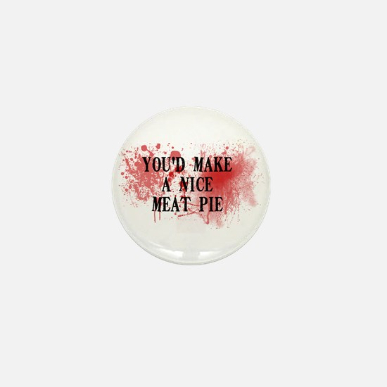 Sweeny Todd's Meat Pie Mini Button (10 pack)