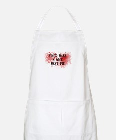 Sweeny Todd's Meat Pie BBQ Apron