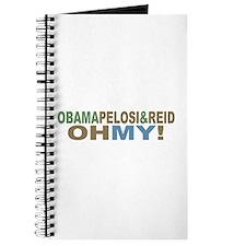 Obama Pelosi & Reid OH MY! Journal