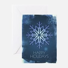 Blue Snowflake Holiday Greeting Cards (Pk of 20)