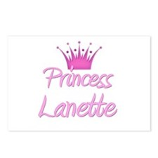 Princess Lanette Postcards (Package of 8)