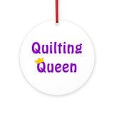 Quilt queen Ornaments