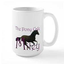 Horse lovers Large Mug, personalized
