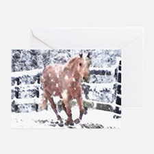 Palomino Horse lover Gifts, Greeting Cards 20 pk