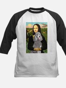 Mona Lia/Std Poodle (silver) Tee