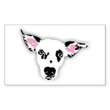 Dalmatian Rectangle Decal