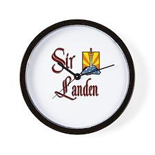Sir Landen Wall Clock