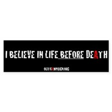 Out Campaign bumper sticker. x10