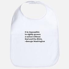 George Washington Quote Bib