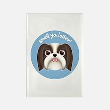SMELL YA LATER Boy Dog Rectangle Magnet