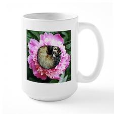 Ferret in Flower Coffee Mug
