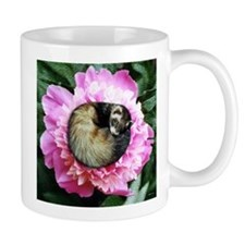 Ferret in Flower Mug