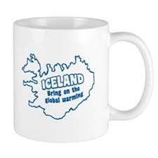 'Iceland Global Warming' Mug