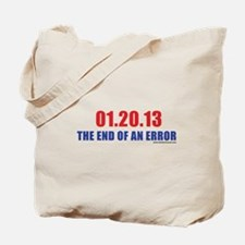 01.20.13 The End of An Error Tote Bag