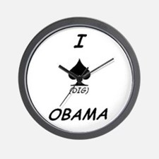 Cute Obama collectibles Wall Clock