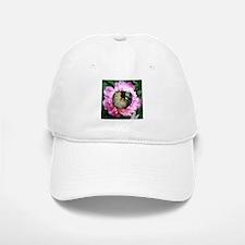 Ferret in Flower Baseball Baseball Cap