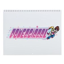 Powergrrrl Wall Calendar