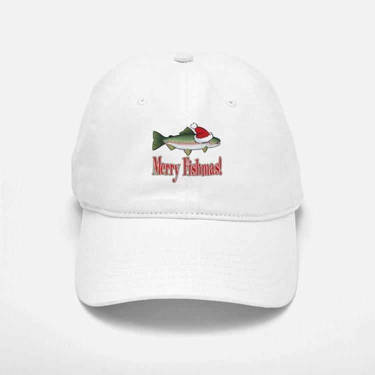 Merry Fishmas Baseball Baseball Cap