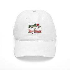 Merry Fishmas Baseball Cap