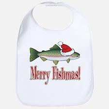 Merry Fishmas Bib