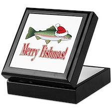 Merry Fishmas Keepsake Box