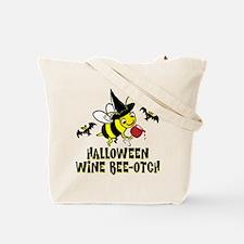 Wine Ho Ho Ho Tote Bag