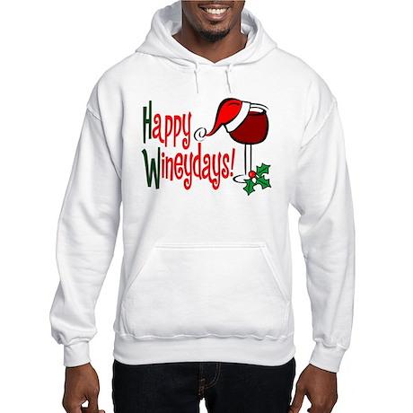 Happy Wineydays Hooded Sweatshirt