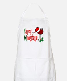 Happy Wineydays BBQ Apron