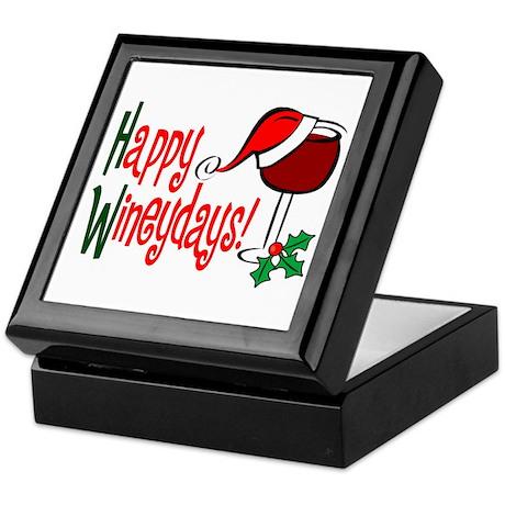 Happy Wineydays Keepsake Box