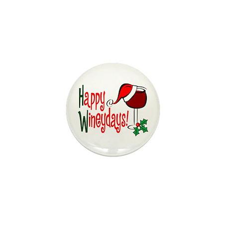 Happy Wineydays Mini Button (10 pack)