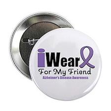 """I Wear Purple (Friend) 2.25"""" Button"""