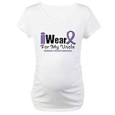I Wear Purple Uncle Shirt