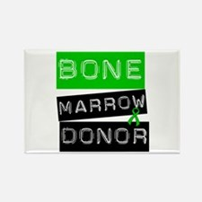 Bone Marrow Donor (Label) Rectangle Magnet