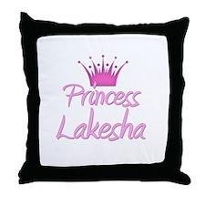 Princess Lakesha Throw Pillow